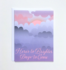 Banquet Workshop Brighter Days Card