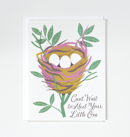 Banquet Workshop Cant Wait To Meet Your Little One Card