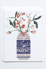 Banquet Workshop Banquet Workshop Beer Can Parent Card