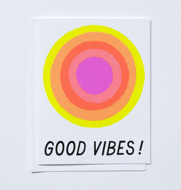 Banquet Workshop Good Vibes Card