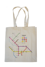 The Collective Good The Collective Good Yukon Route Map Tote