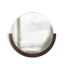 Umbra Mira Mirror-Walnut