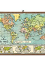 Cavallini Papers Cavallini Papers World Map School Chart