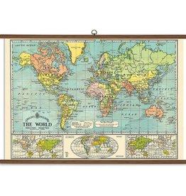 Cavallini Papers World Map School Chart