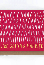 Paper E Clips Paper E Clips Aah Married Card-GC158
