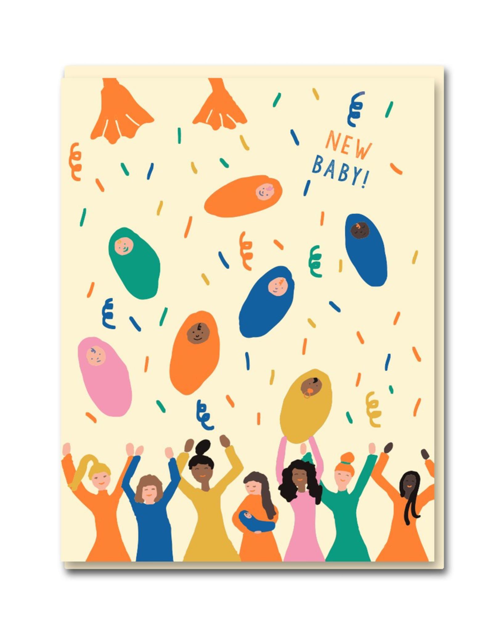Paper E Clips Paper E Clips Baby Shower Card-0562