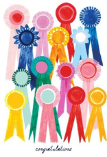 Paper E Clips Paper E Clips Congrats Ribbons Card-HP433