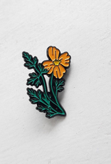 The Foragers Club The Foragers Club California Poppy Pin