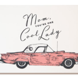 The Good Days Print Co Cool Lady Card