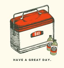 The Good Days Print Co Great Day Dad Card