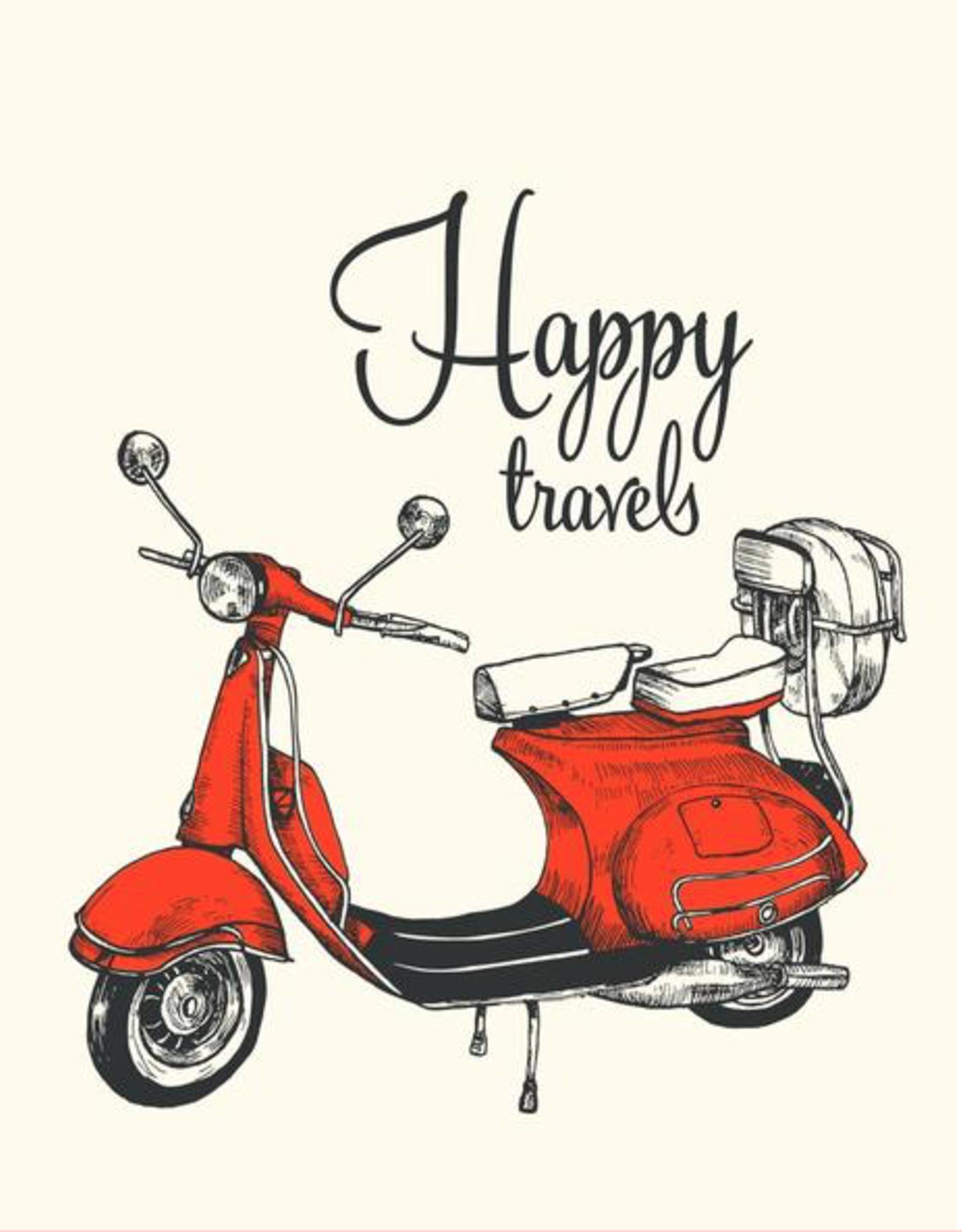 The Good Days Print Co The Good Days Print Co Happy Travels Card