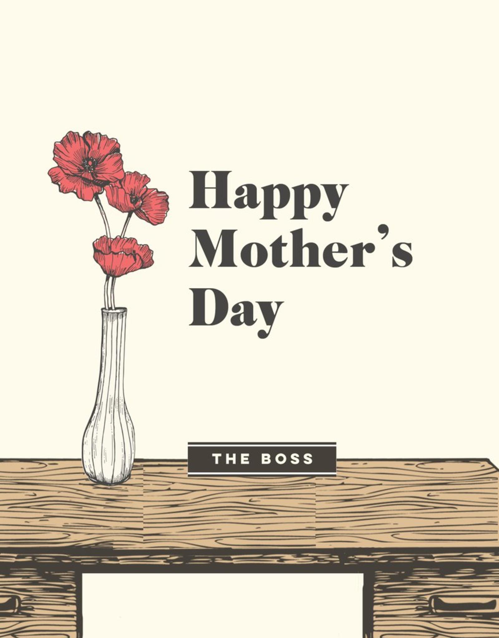 The Good Days Print Co The Good Days Print Co Mom Boss Card
