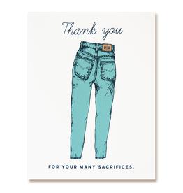 The Good Days Print Co Mom Jeans Card