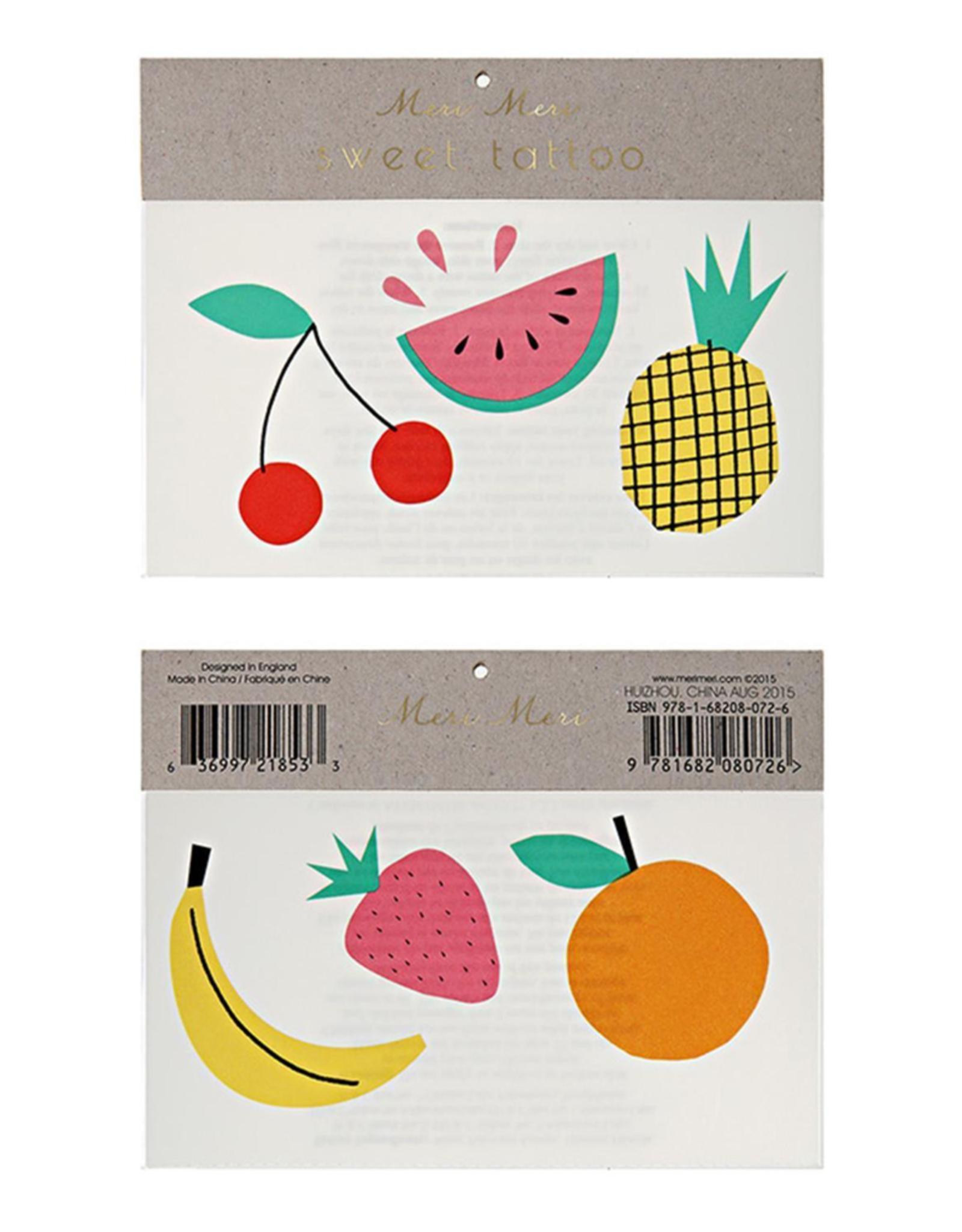 Meri Meri Meri Meri Fruit Tattoos