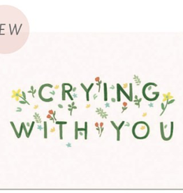 Paper E Clips Crying With You Card-GC514