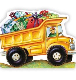 Paper E Clips Dump Truck Card