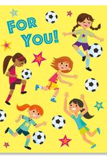 Paper E Clips Paper E Clips Girl Sports Card-E600