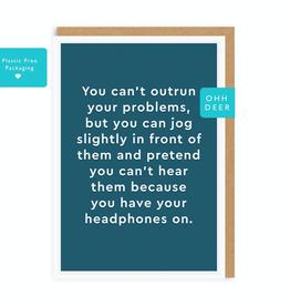 Paper E Clips Headphones Card
