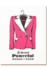 The Good Days Print Co The Good Days Print Co Powersuit Card
