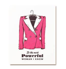 The Good Days Print Co Powersuit Card