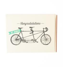 The Good Days Print Co Tandem Bike Card