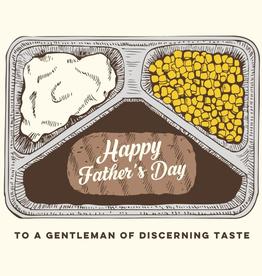 The Good Days Print Co Tv Dinner Dad Card