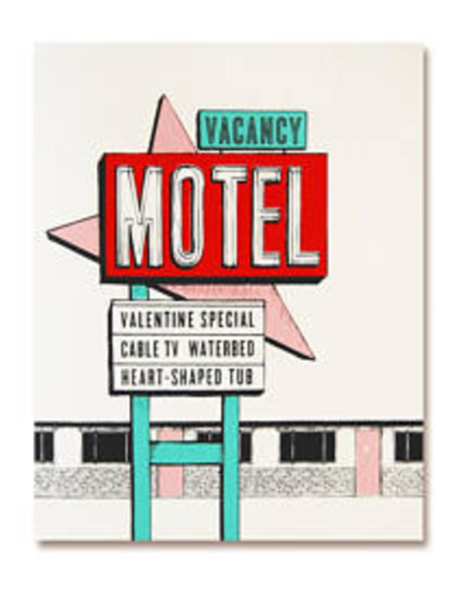 The Good Days Print Co The Good Days Print Co Valentine Motel Card