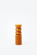 TTG TTG Sculpted Candle-Terracotta-Medium