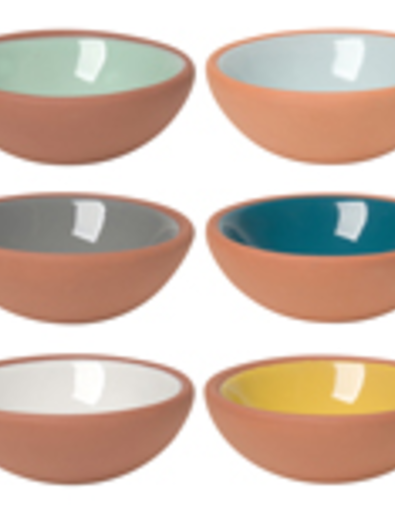 Danica Danica Terracotta Pinch Bowl-Sky-Set 6