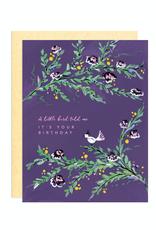 Paper E Clips Paper E Clips Little Birdy Birthday Card-GC004