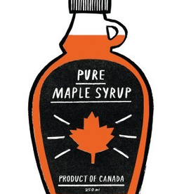 Paper E Clips Maple Syrup Car