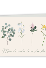 Paper E Clips Paper E Clips Merci Fleurs Card-CS109