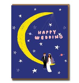 Paper E Clips Moonlight Card