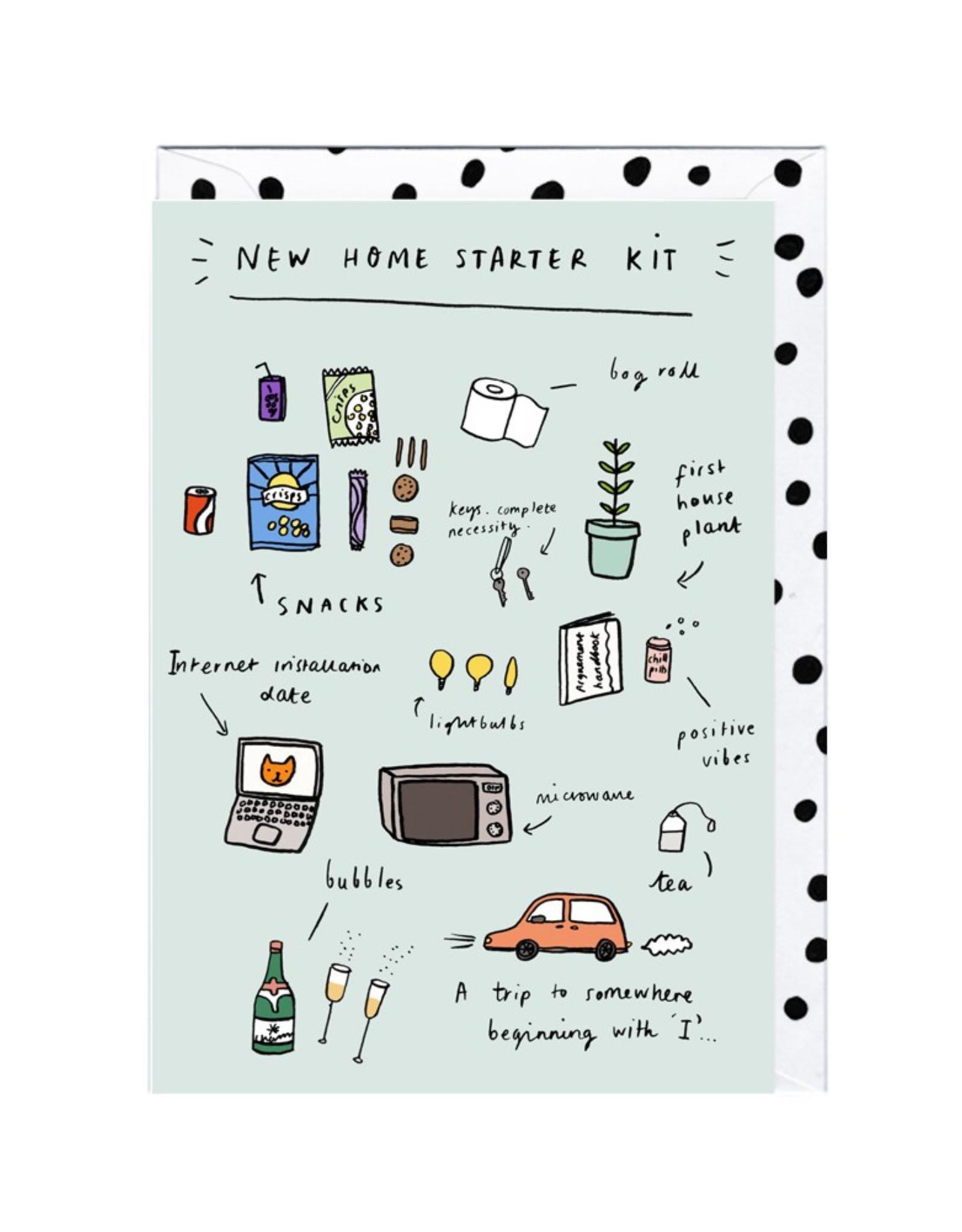 Paper E Clips Paper E Clips New Home Starter Kit Card-HR113