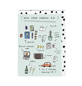 Paper E Clips New Home Starter Kit Card