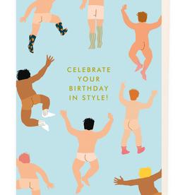 Paper E Clips Nudie Guys Birthday