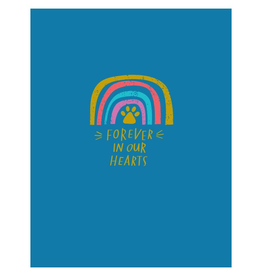 Paper E Clips Rainbow Card-A6793