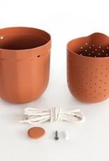 Wally Gro Wally Gro Loop Planter-Terracotta
