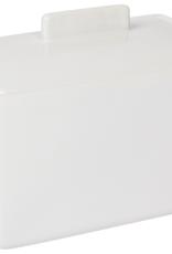 Danica Danica Butter Dish-White