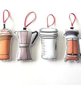 Creationz By Catherine Creationz By Catherine Coffee Ornament Set