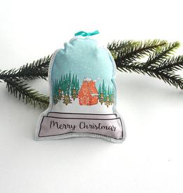 Creationz By Catherine Creationz By Catherine Merry Christmas Snowglobe Ornament-Single