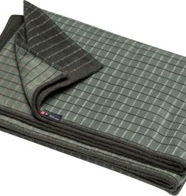 DFT Flannel Throw-Checks-Green