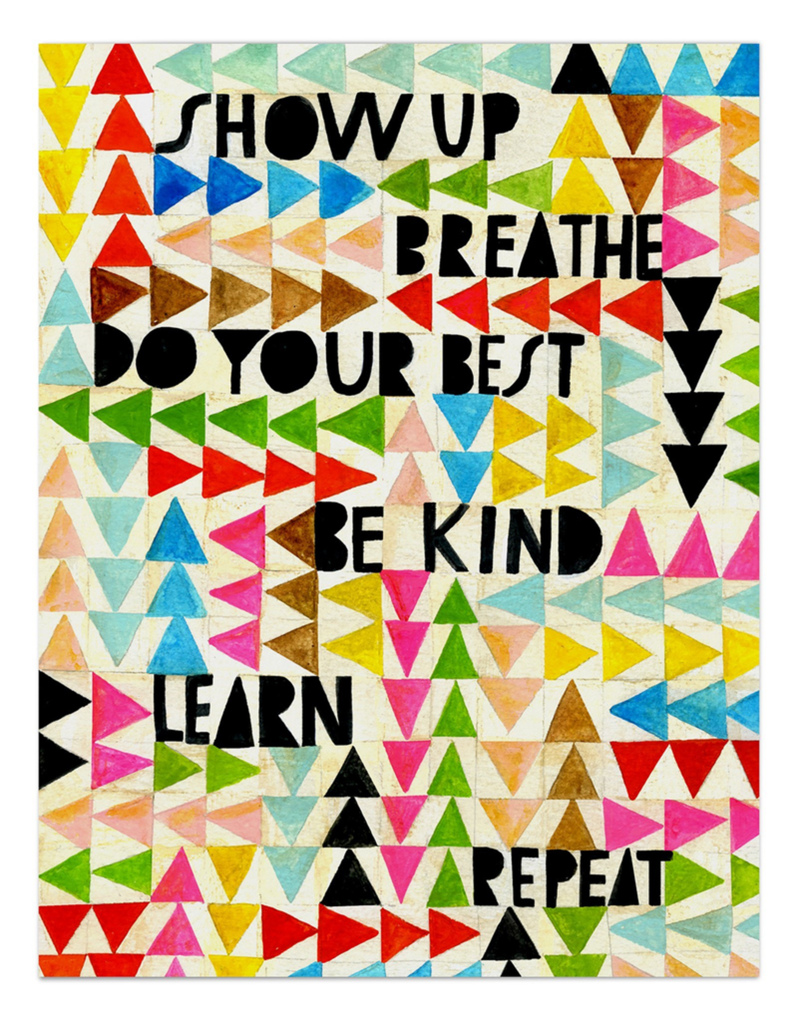 Paper E Clips Paper E Clips Show Up Breathe Card-2629