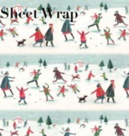 Paper E Clips Paper E Clips Skating Scene Wrapping Paper-AX315966