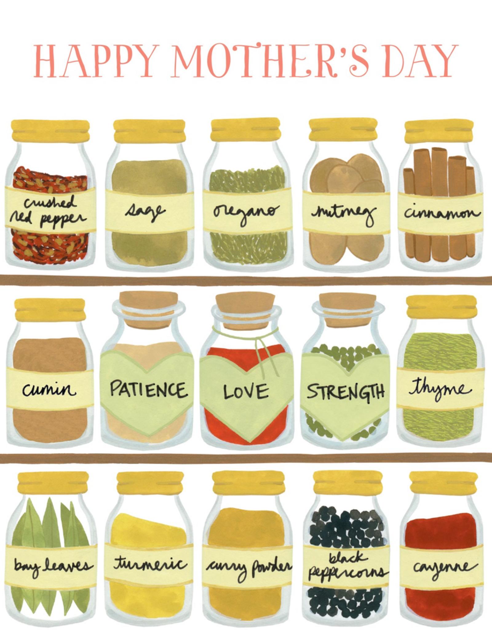 Paper E Clips Paper E Clips Spice Jars Card-105