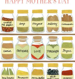 Paper E Clips Spice Jars Card