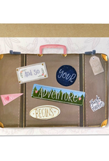 Paper E Clips Paper E Clips Suitcase Of Love Card-WE109