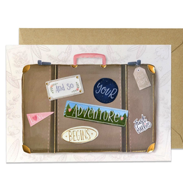 Paper E Clips Suitcase Of Love