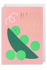 Paper E Clips Paper E Clips Sweet Pea Card-6144