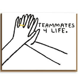 Paper E Clips Teammates Card-